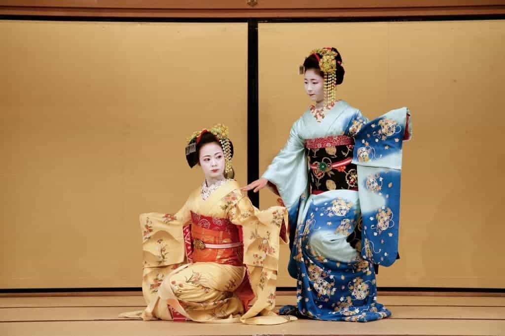 Kyoto Gion Corner, melihat tarian tradisional jepang