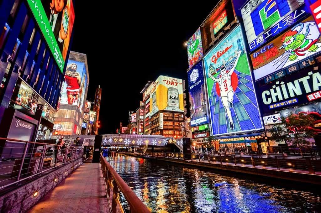 Dotonbori Osaka jepang liburan murah ke Jepang 2016 ala backpacker paket liburan murah ke Jepang tips liburan murah ke Jepang cara liburan murah ke Jepang