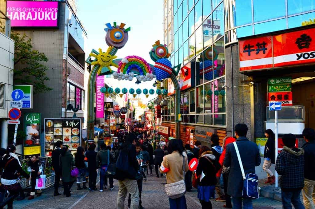Harajuku Jepang Paket Liburan ke Jepang 2016 murah harga Paket Liburan ke Jepang