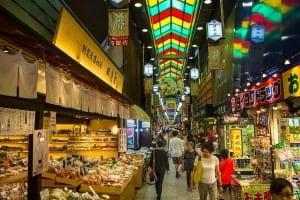 Nishiki Market Kyoto jepang liburan murah ke Jepang 2016 ala backpacker paket liburan murah ke Jepang tips liburan murah ke Jepang cara liburan murah ke Jepang
