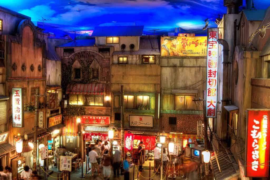 Yokohama Raumen Museum jepang japan biaya tour ke Jepang 2016 harga tour ke jepang 2016