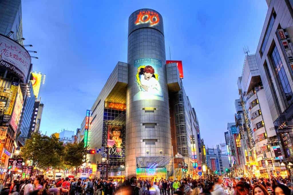 pusat perbelanjaan Shibuya jepang harga tour ke Jepang 2016 murah dari medan biaya tour ke jepang