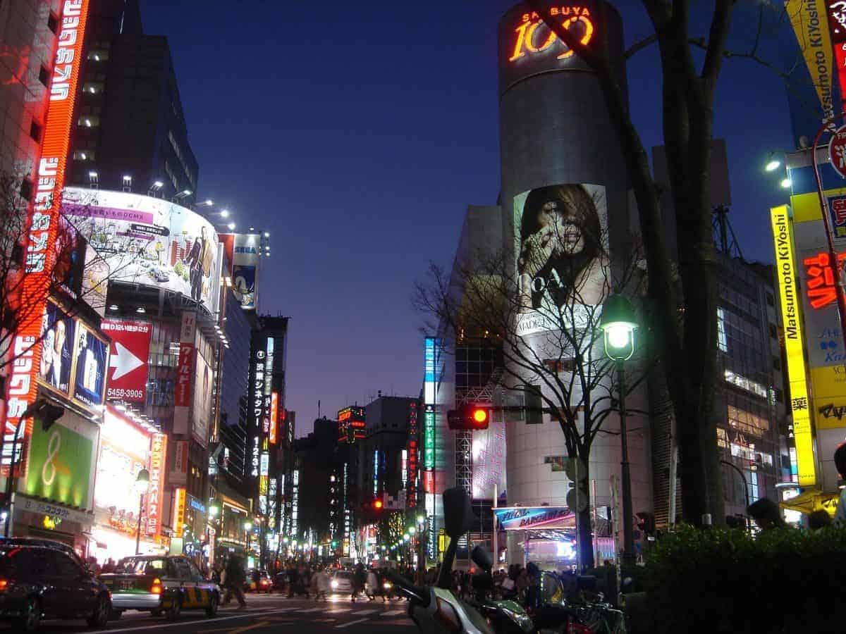 pusat perbelanjaan di Shibuya jepang harga tour ke Jepang 2016 murah dari medan biaya tour ke jepang