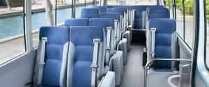 micro bus interior