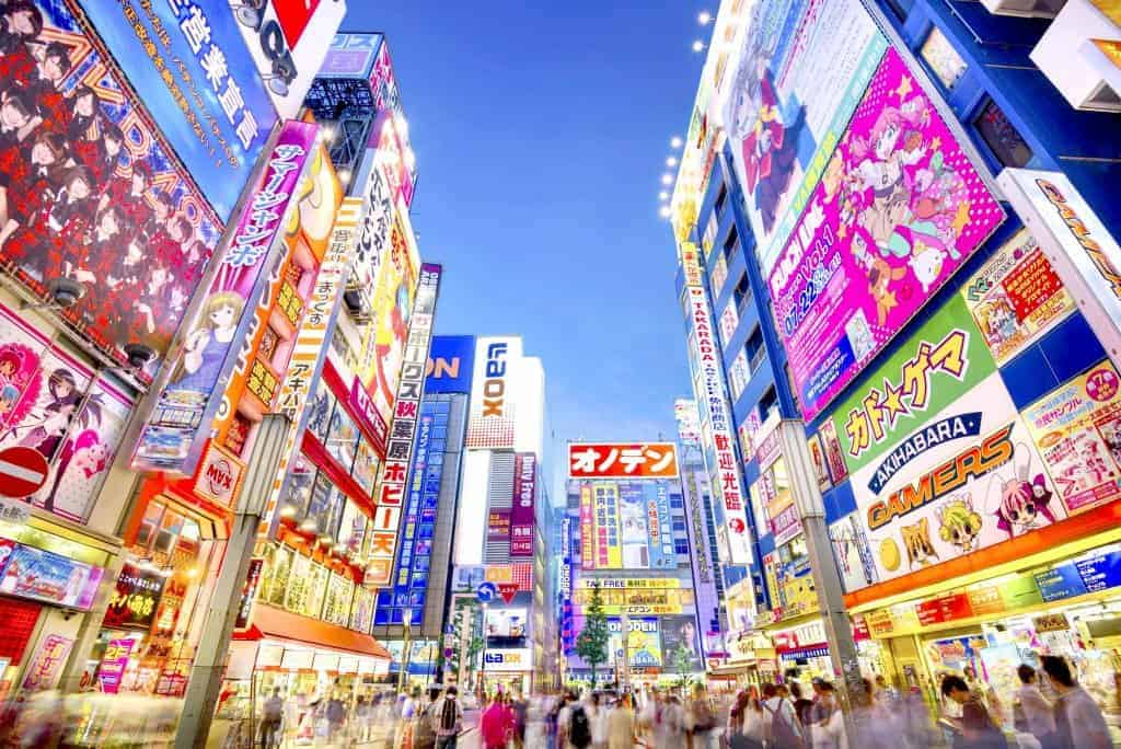 Paket Open Trip Tour Ke Jepang Autumn 28 November – 3 Desember 2018 Akihabara
