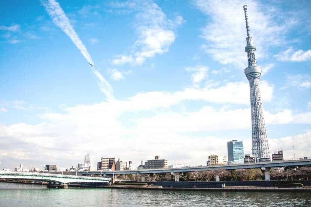 Paket Open Trip Tour Ke Jepang Autumn 28 November – 3 Desember 2018 tokyo skytree