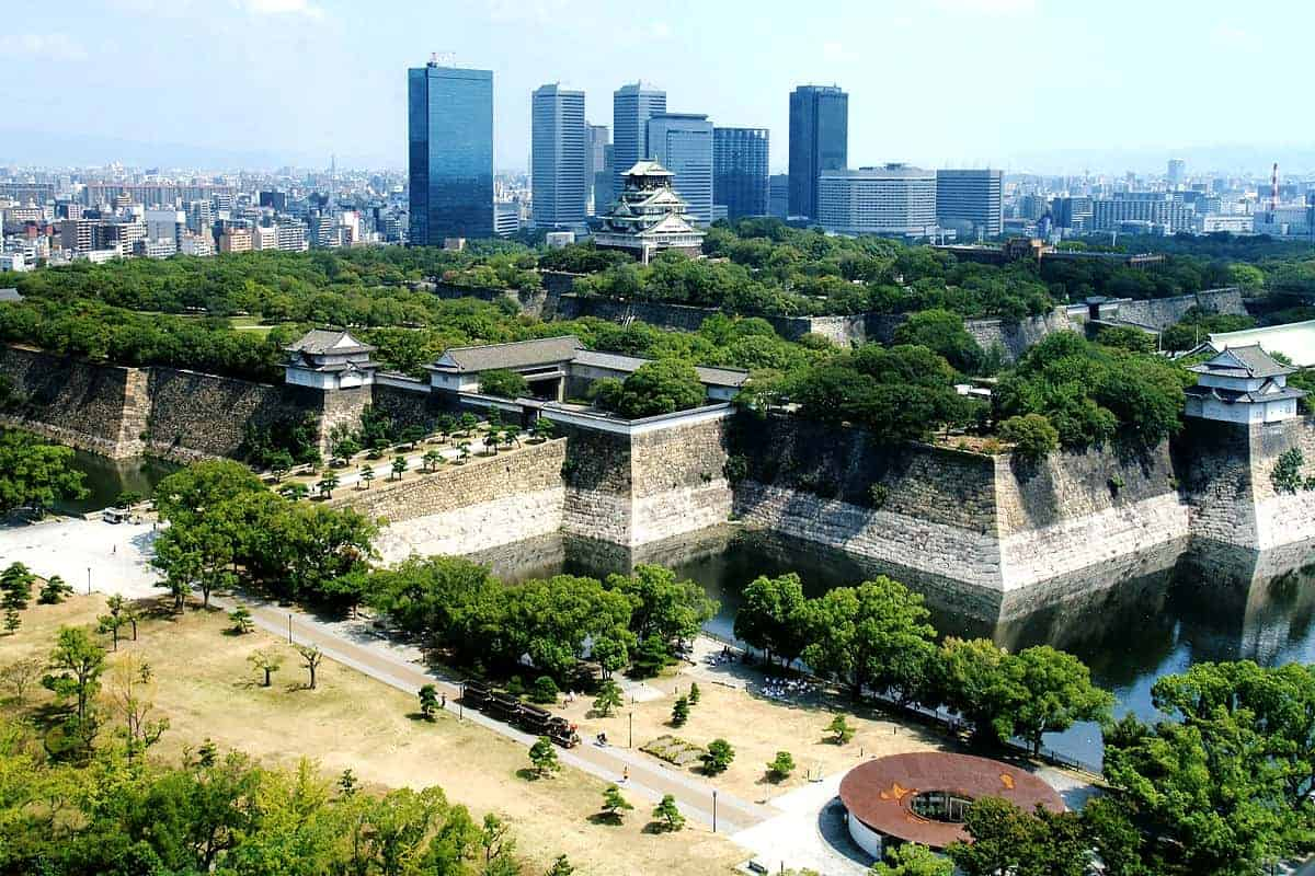 paket tour jepang 2018 murah osaka castle park